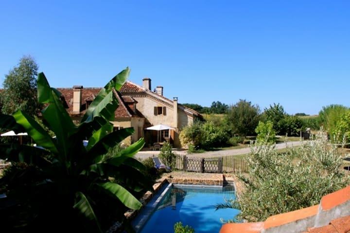 Maison de charme piscine Landes  - Peyre