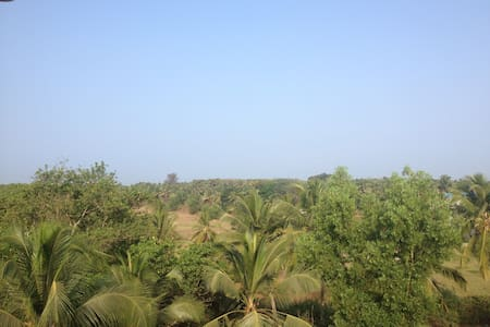 Sea-facing 2 bedroom apt South Goa. - Wohnung