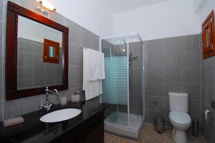 Bathroom - Each room has its own private bathroom.