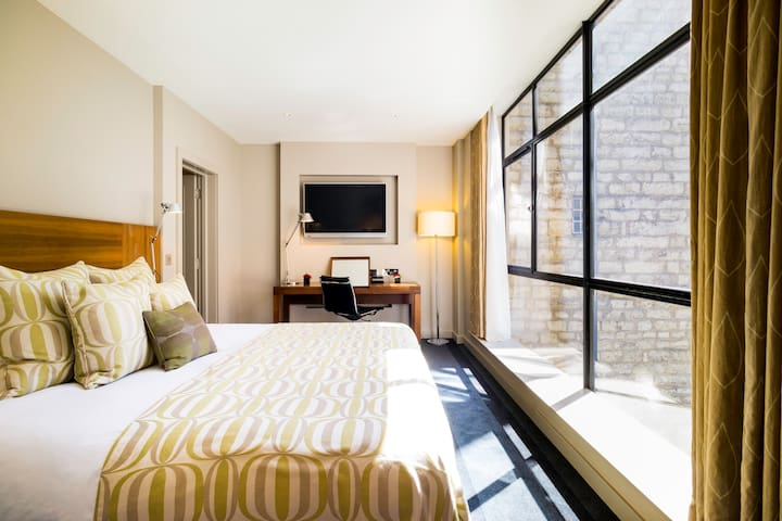 City double room in this modern four-star hotel near Tower of London.