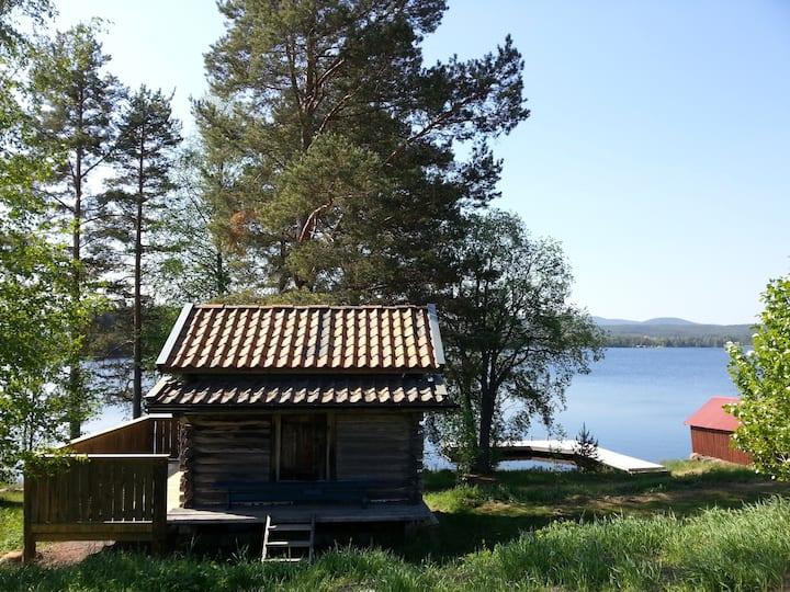 Swedish cottage by Lake Siljan, Mora, Dalarna