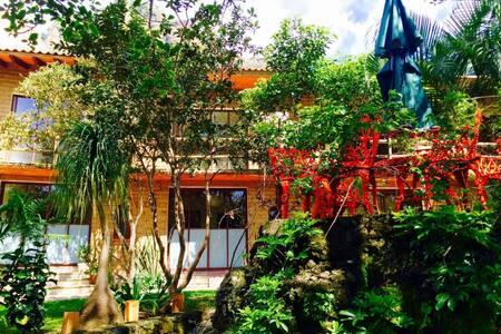 Refugio del Alma - Suite #4 / Camas Matrimoniales - Tepoztlán