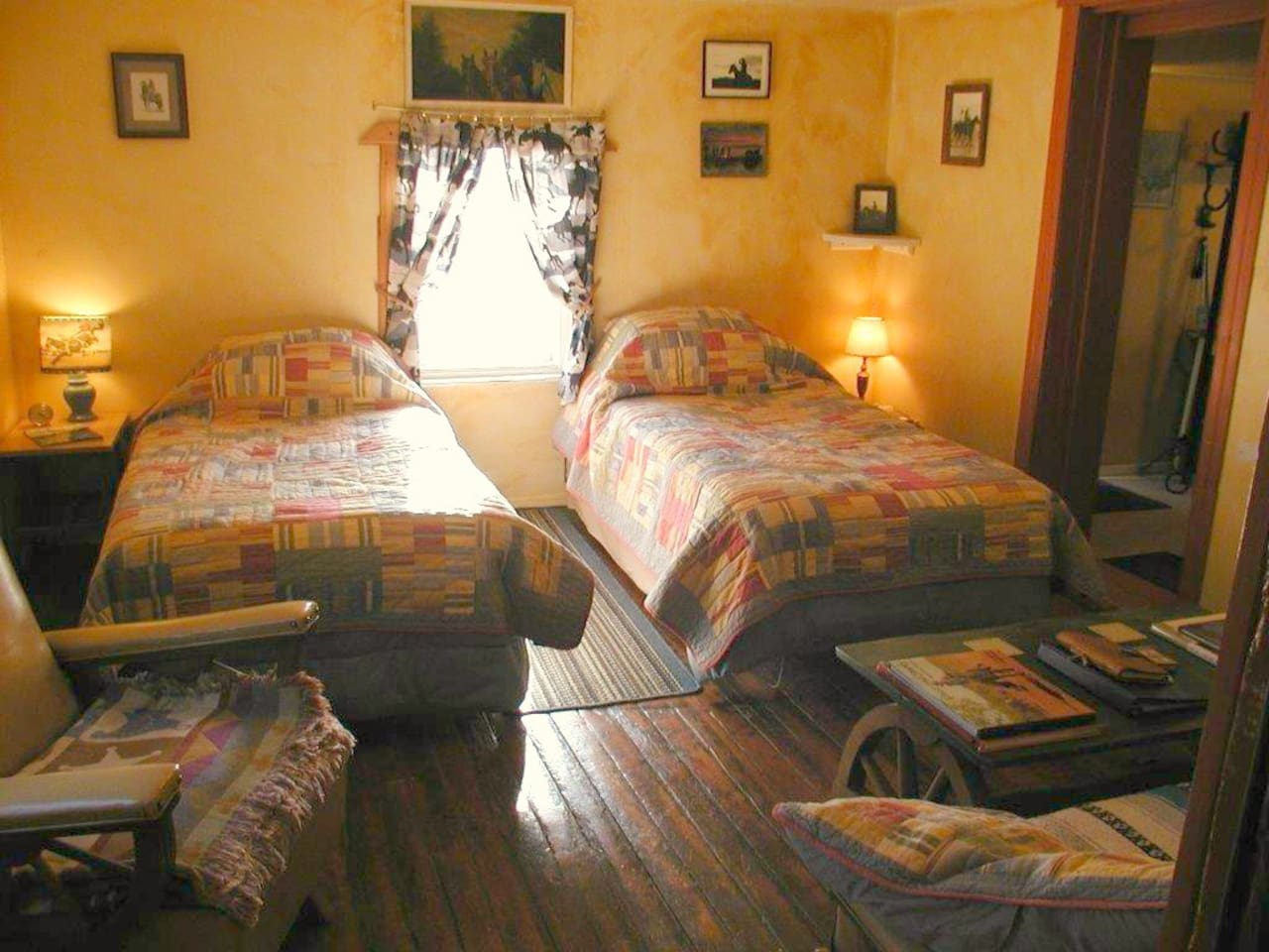 Cow Camp room