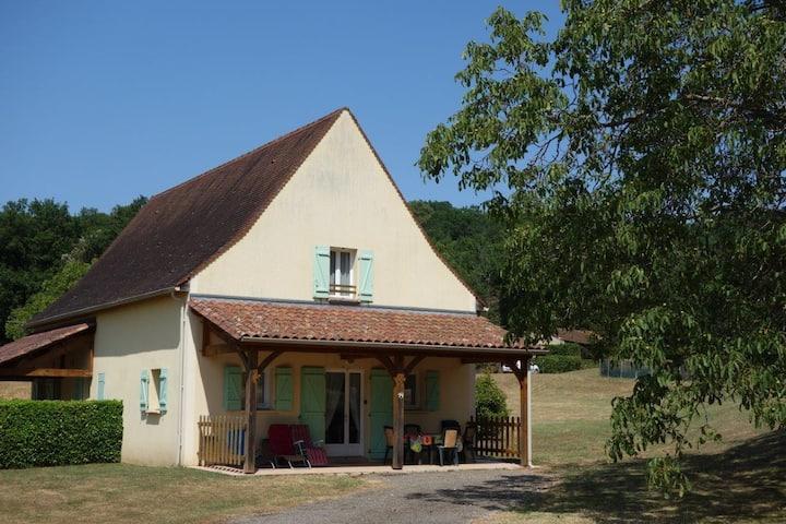 Maison proche de Sarlat (Périgord) pour 2 à 7 pers