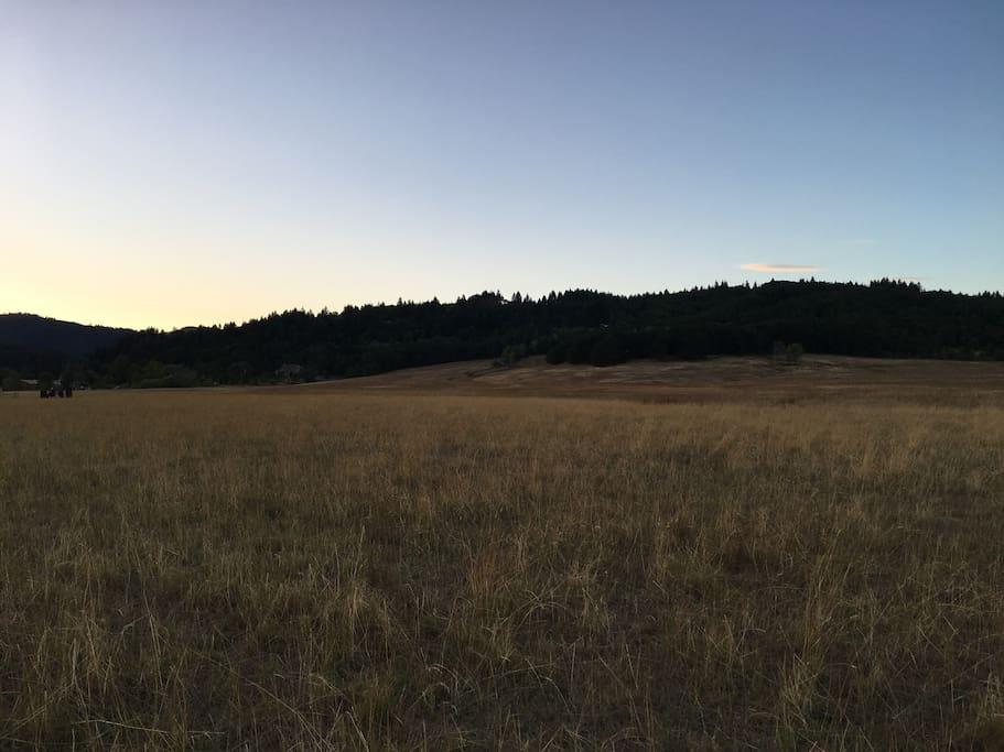 Sunrise on the land