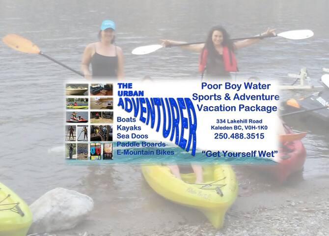Poor Boy Water Sport & Adventure Vacation Package