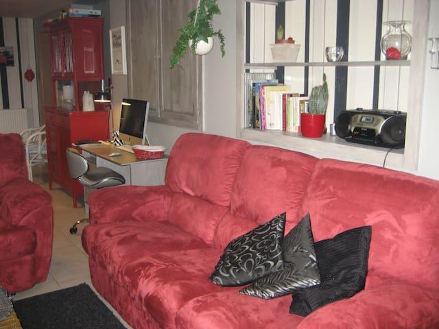 Agréable petit appart comtemporain - Blégny - Lägenhet