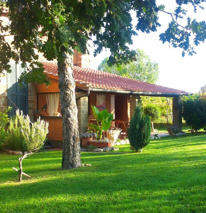 Chalet with 4 bedrooms in Canale Monterano, with private pool, enclosed garden and WiFi - 35 km from the beach