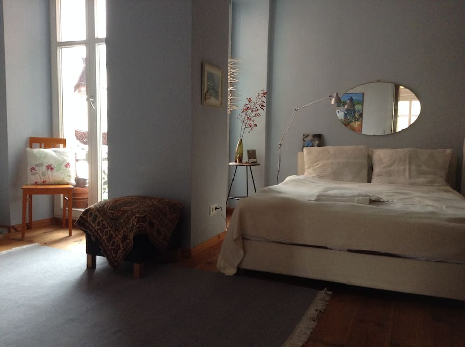 The sleeping room: A bright and individual place for one or two