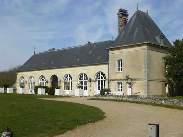 The Orangery, Chateau de la Trousse - Ocquerre - Apartmen
