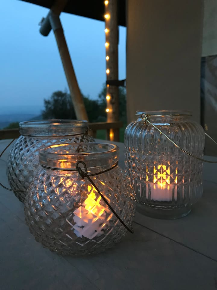 Trenosa Glamping - Stunning Views & Private