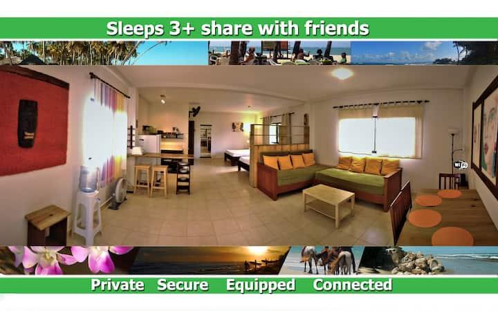 Portals5  huge loft sleeps 3+  ocean view