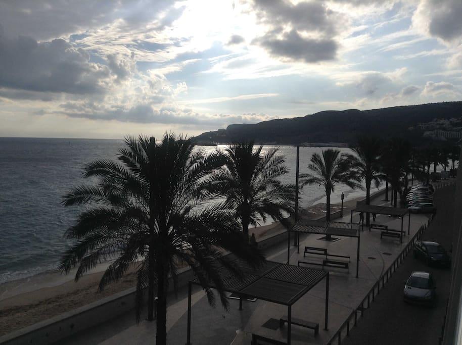 Frente ao mar - Vista 1