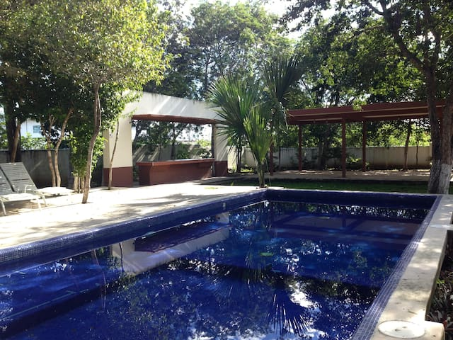 cozy room with grill & pool area - Playa del Carmen - Casa