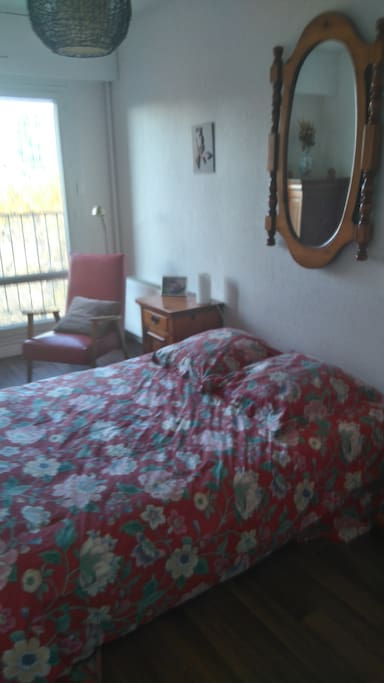 Chambre d 39 ami m tro 2 minutes apartments for rent in for Housse de couette translation