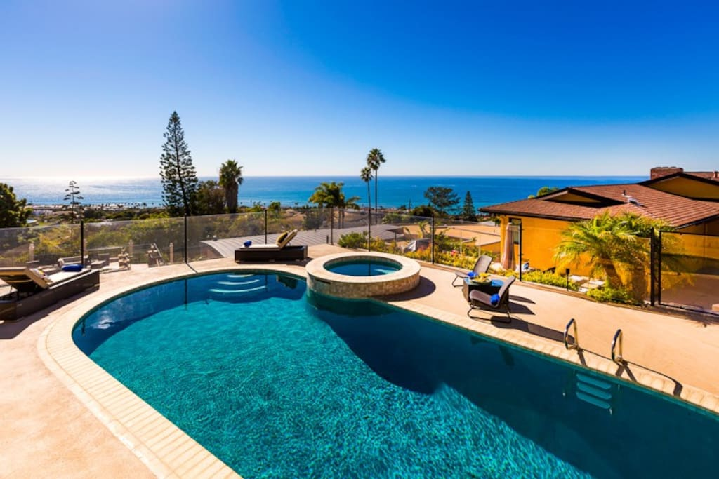 Relax at your Private Pool and Spa and enjoy breath taking ocean views.