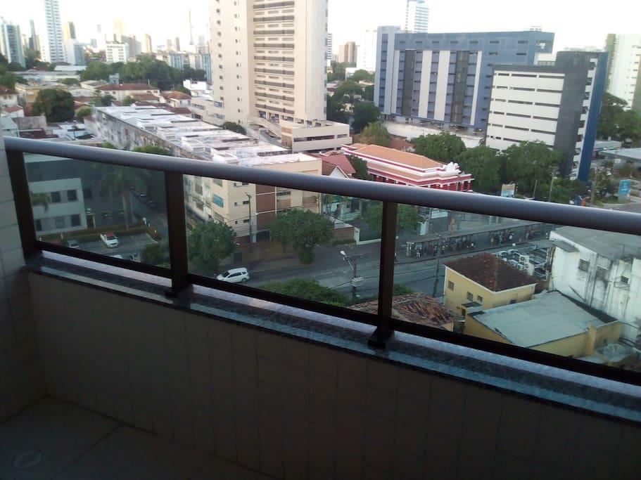 Vista exterior desde a varanda da sala