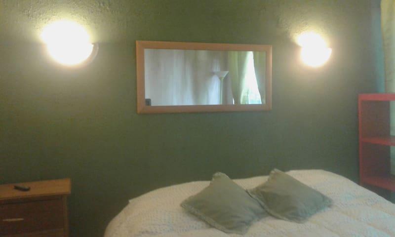 Casa acogedora ofrece: Pieza n°3 Verde.