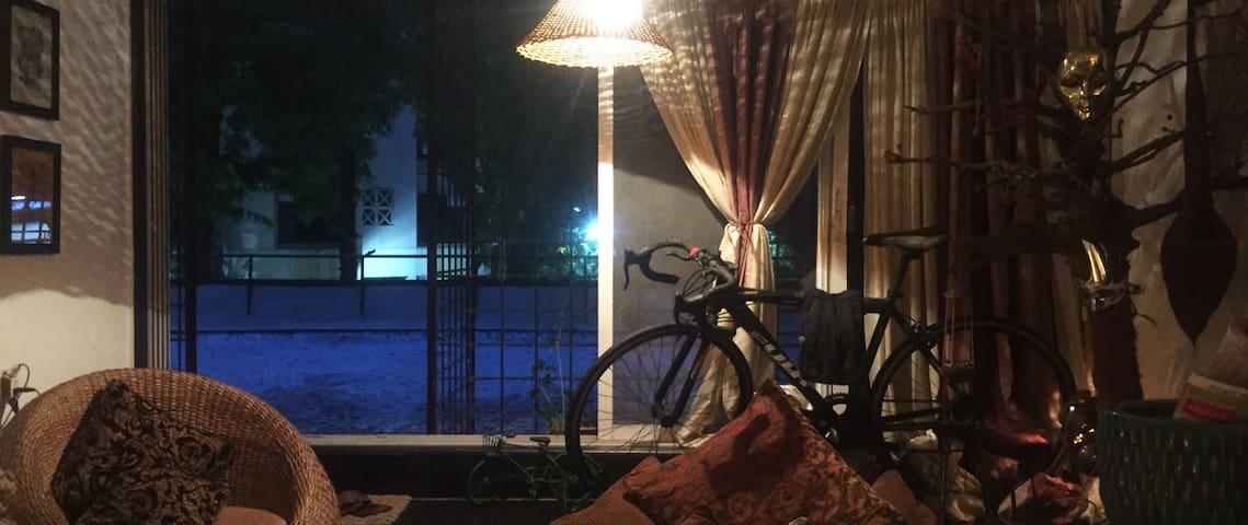 A rare terrace Flat at a Premium location