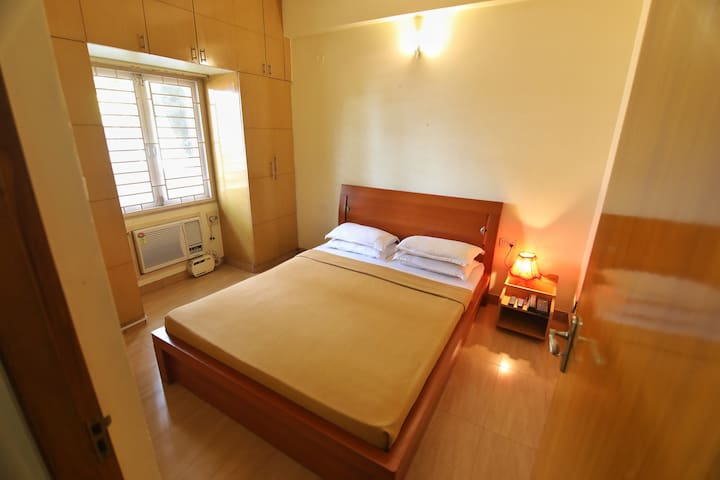 Compact Bedroom with Yummy Breakfast, Nandanam