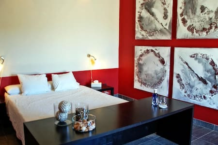 Kamer Chez Mila - B&B Casa Pura Vida - Villanueva de Algaidas - Bed & Breakfast