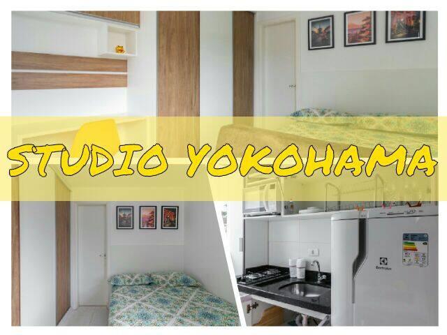 Studio Yokohama /Com vaga de estacionamento.