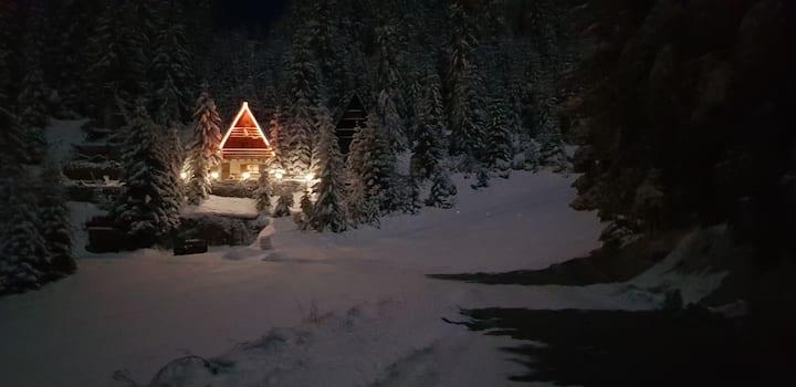 """Planinska kuca""""Feeka"""" uz ski stazu."""