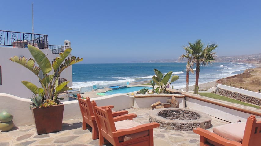 Casa Luna 1 bedroom with ocean view & fire pit