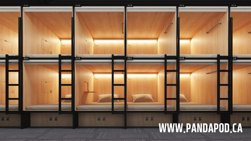 Panda Pod Hotel - Sleeping pod for Male