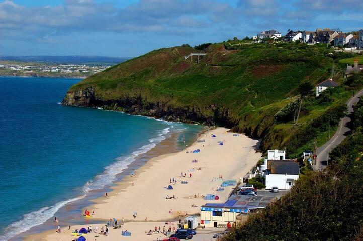 A stunning beachside retreat.
