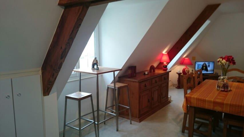 Appartement LES ÉCLUSES, vue mer. A - Port-en-Bessin-Huppain - Apartment