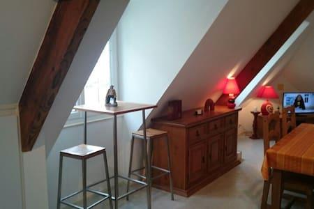 Appartement LES ÉCLUSES, vue mer. A - Port-en-Bessin-Huppain - Apartemen