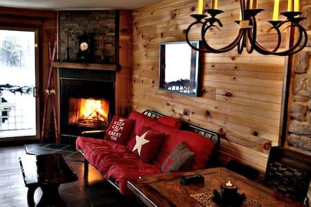 Chaleureux condo de ski - Stoneham-et-Tewkesbury