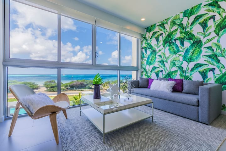 Imagine yourself in this Tropical Ocean-view Condo