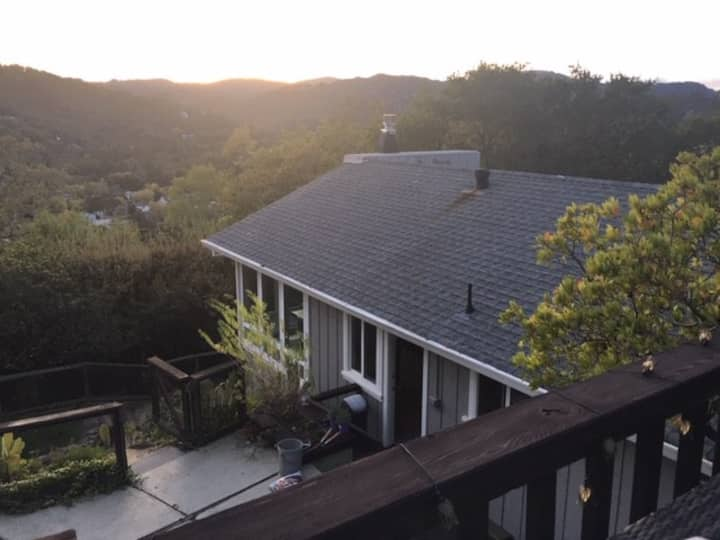 Privacy with amazing views and proximity to SF
