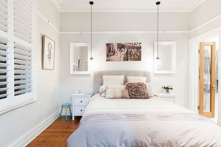 Master bedroom with large ensuite