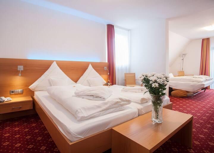 Hotel Hessenhof (Winterberg/Stadt) -, Suite mit Balkon und mit kostenfreiem WLAN