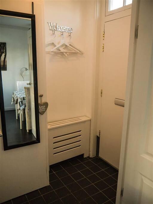 De entree.