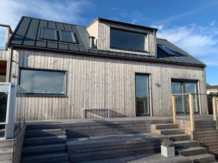 Boende med havsutsikt på Bohus-Malmön
