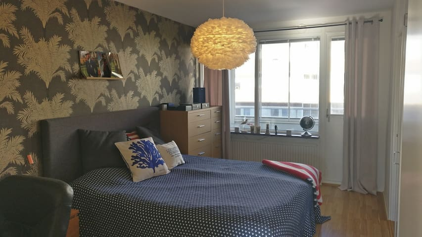 Exclusive apartment with double-bed in Gothenburg - Gotemburgo - Apartamento