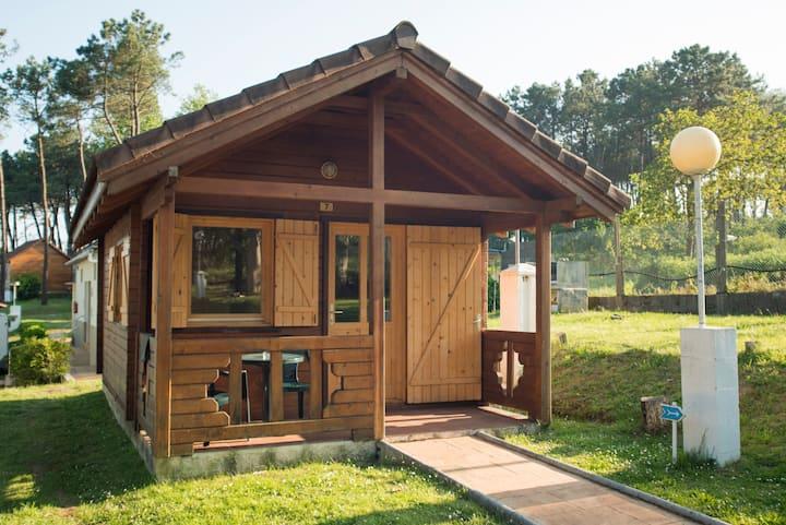 Bungalows Sanxenxo 2 plazas: Camping Cachadelos