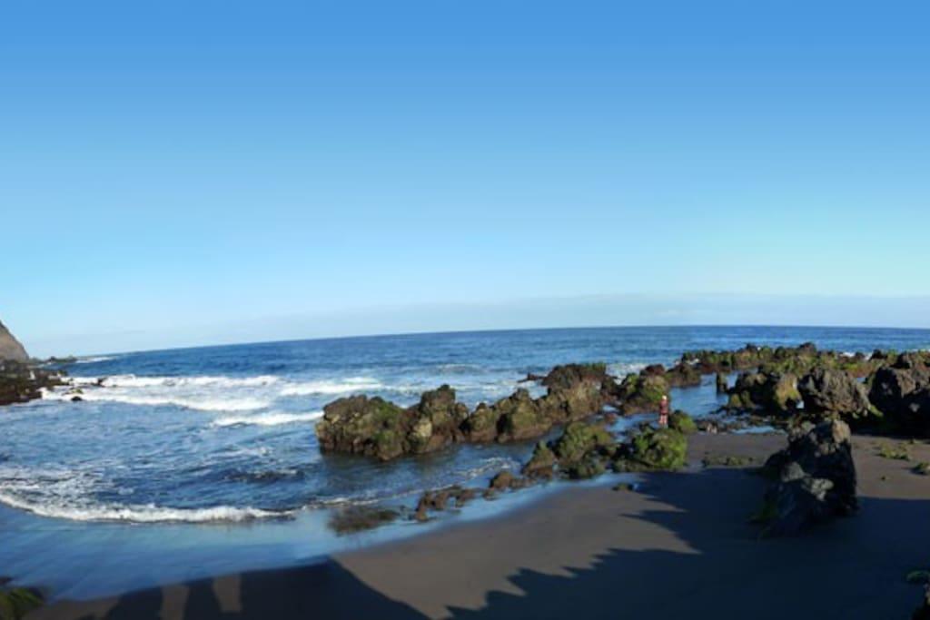 Playa de las Arenas.