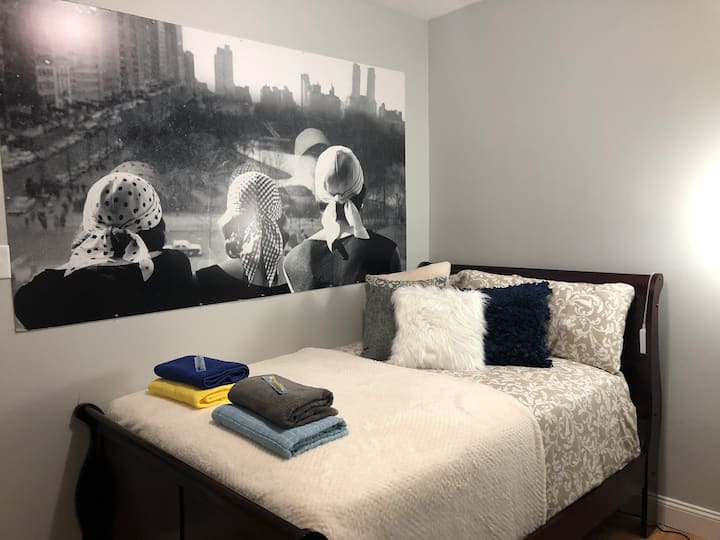 (8) 10 Min to NYC New Cozy Private Room