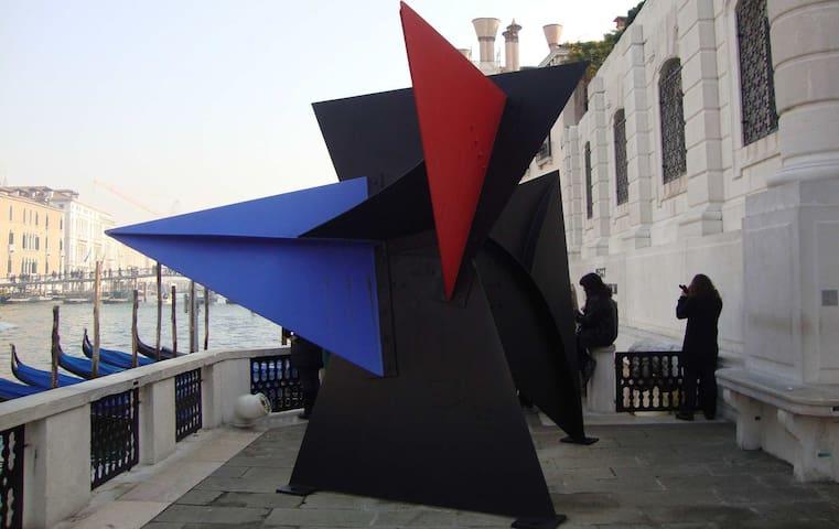 Peggy Guggenheim Museum, just few steps