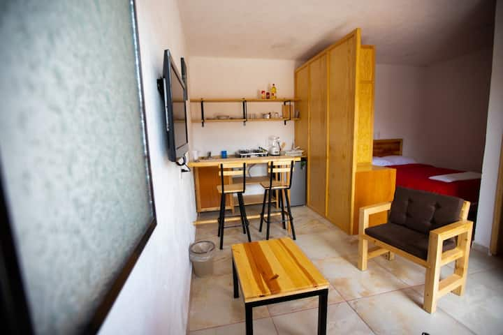 Hermoso y cómodo loft Santa María del Río. Sandía
