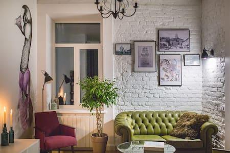 Apartment where goose lives - Kyiv