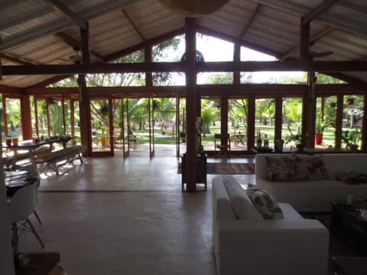 Casa Fantástica na Ponta Corumbau , Sul da Bahia