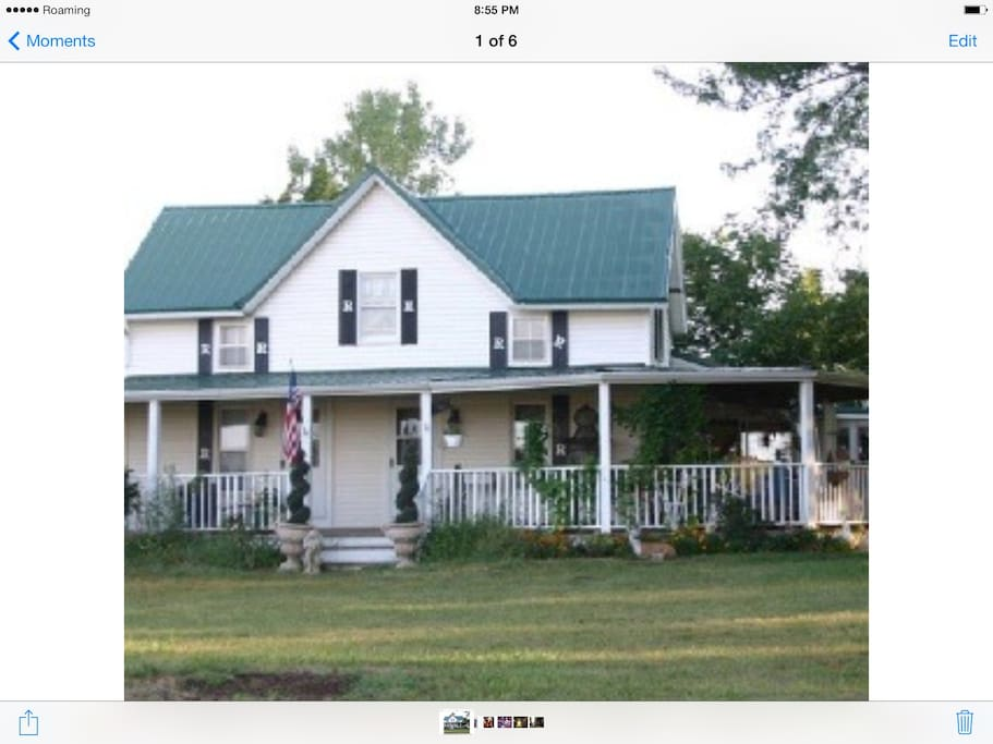 This is the front of the Farmhouse.