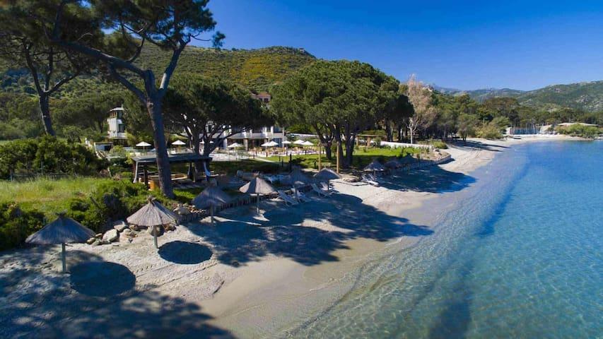 Maison rez-de-jardin Oletta 10mn de la plage
