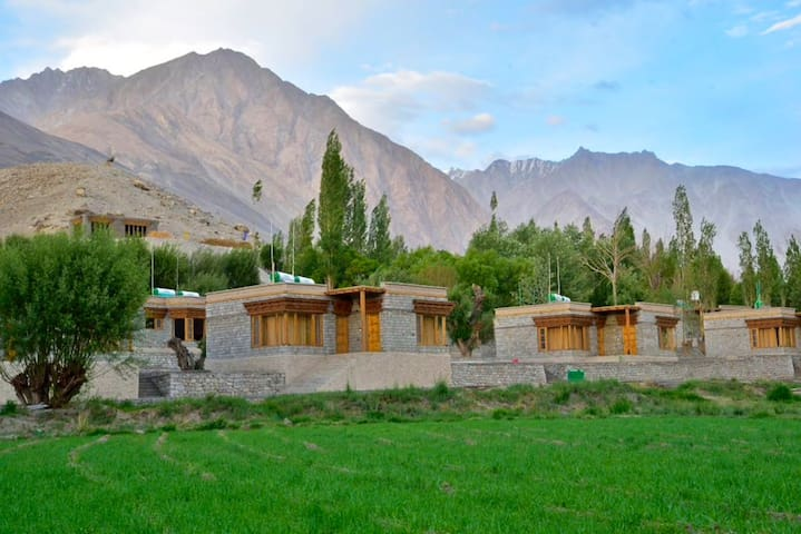 Osay Khar Boutique Farm Stay in Nubra Valley